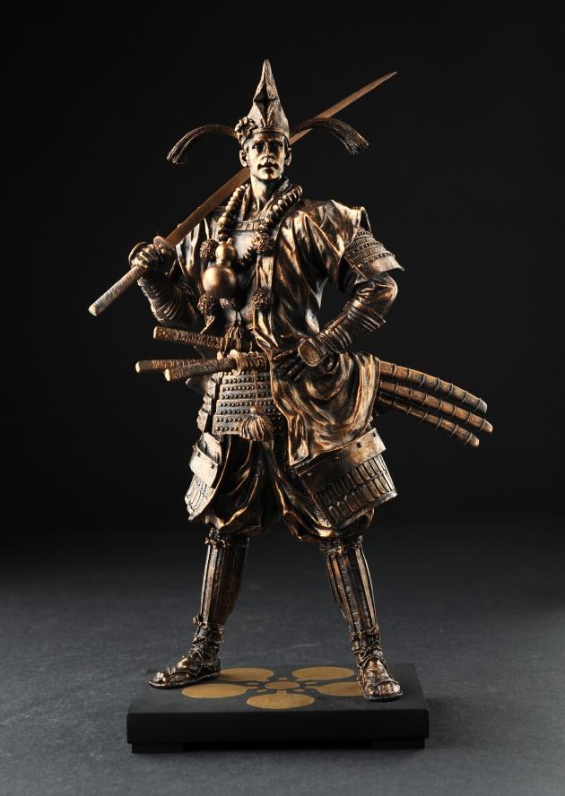 戦国武将フィギュア 前田慶次 (原画・正子公也)